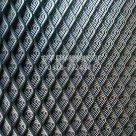 船厂石油矿产工作平台钢板网,金属扩张网,菱形防滑脚踏网