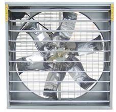 河南塑胶厂车间负压风机水帘通风降温系统