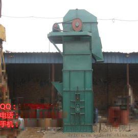 水泥粉料瓦斗提升机 钢斗板链输送机定制
