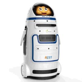 进化者小胖家庭投影学习教育机器人