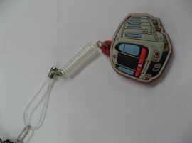 PVC手机吊饰