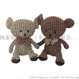 创意毛绒玩具定制泰迪熊毛绒公仔抖音网红娃娃icti