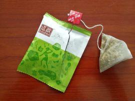荷叶混合代用茶带线带标包装机 袋泡茶内外袋包装机