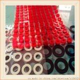 耐高溫矽膠墊片、蘇州透明矽膠墊、圓形矽膠墊