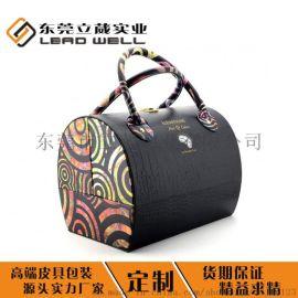 東莞品牌化妝品皮盒包裝定制