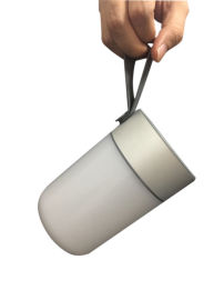 新款防水臺燈 手提Led充電七彩燈