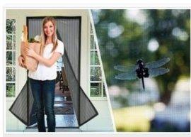 厂家批发防蚊磁性软纱门,磁性门帘,防蚊纱门