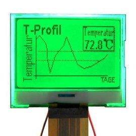 小尺寸黑白屏COG12864液晶显示屏液晶模块
