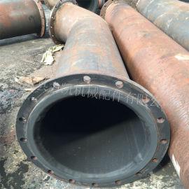 耐磨衬胶管道,电厂脱硫衬胶管道