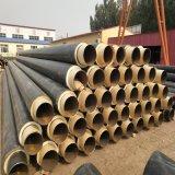 高密度聚乙烯聚氨酯发泡保温钢管 聚氨酯保温预制管