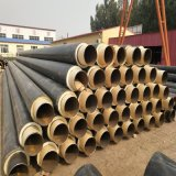 高密度聚乙烯聚氨酯發泡保溫鋼管 聚氨酯保溫預製管