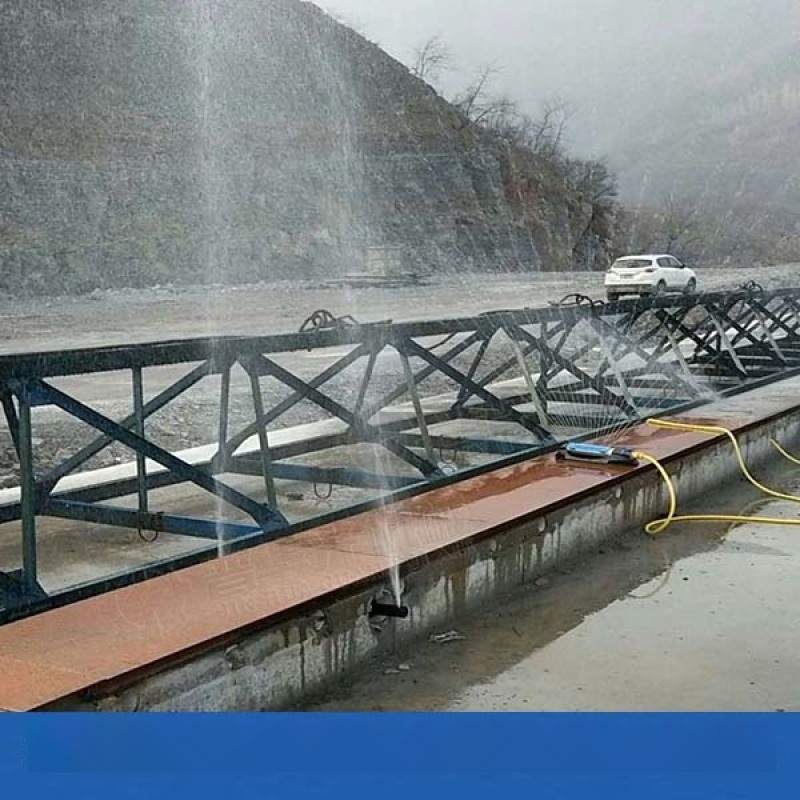 湖北孝感樑場智慧噴淋養護系統主機 40米手動噴霧機