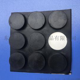 生產直銷自粘橡膠腳墊自粘硅膠防滑膠墊生產廠家