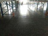 東臺混凝土地板起砂翻新,東臺小區車庫地面起灰無塵