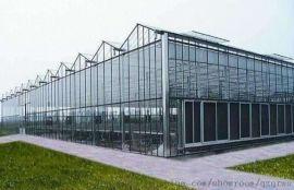 山西忻州订购玻璃温室 智能玻璃温室价格