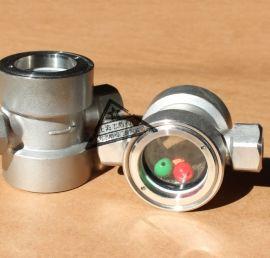 不锈钢浮球式视镜,对夹浮球水流指示器,螺纹浮球视镜