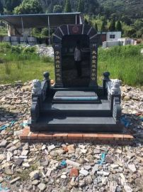 廠家供應石雕墓碑 各種石材墓地石碑墓碑 尺寸可定制