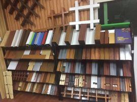 凸型铝方管天花吊顶-凹凸卡龙骨铝方通0木纹四方管