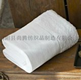 廠家直銷純棉酒店毛巾白毛巾一次性毛巾可加LOGO