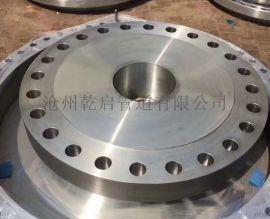 乾启供应 碳钢对焊法兰 大口径平焊法兰 高压法兰