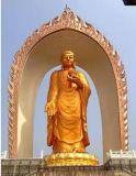 廠家加工製造 大型鑄銅觀音像 寺廟擺件貼金彩繪 定製銅佛像 精雕加工