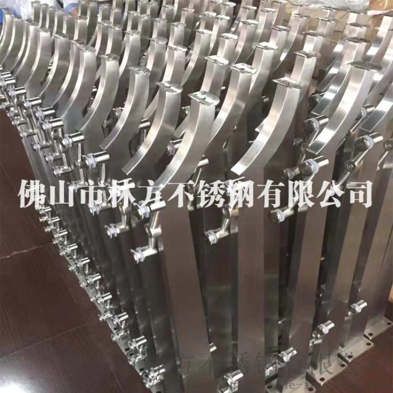 廠家直銷商場扶手立柱不鏽鋼工程立柱陽臺扶手立柱