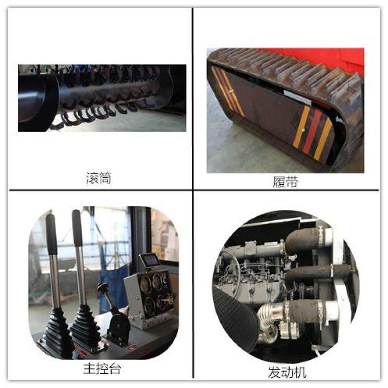 履带式翻堆机与行走式翻堆机有什么之分