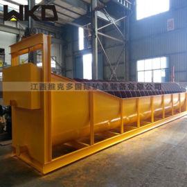 山东螺旋洗砂机厂家 风化砂洗砂机流程 高产量洗砂机