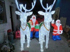 深圳厂家批发玻璃钢圣诞礼物、圣诞景观、圣诞老人雕塑工艺品