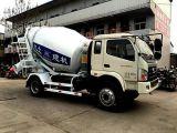 混凝土搅拌运输车4方/4方罐车/运输/品牌:亿立/郑州亿立实业有限公司制造