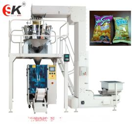休闲膨化食品包装机械设备