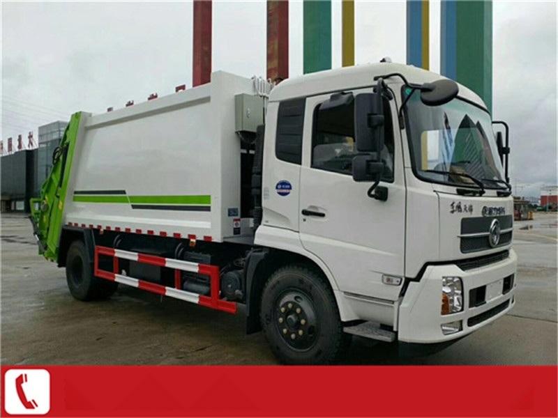 浙江杭州8方5吨后装式压缩垃圾车厂家参数图片