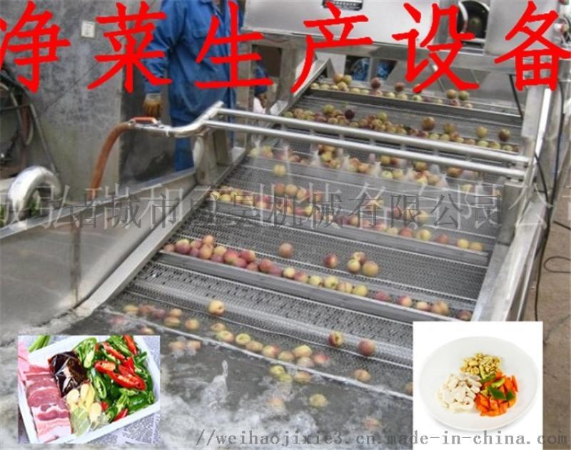 淨菜設備-果蔬清洗機毛刷輥