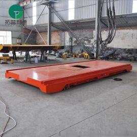 河北厂家过跨车拖链 拖电缆平板搬运车零故障