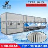 25吨大型工业直冷式块冰机降温块冰机价格制冰机厂家