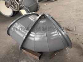 厂家陶瓷耐磨三通管道 江河机械
