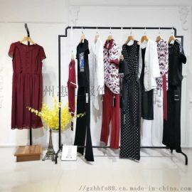 韩版品牌女装加盟她衣柜剪标衣服能买吗库存尾货服装女式衬衫女装真丝
