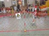 玻璃钢管式移动护栏 绝缘施工警戒伸缩围栏