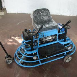 两个盘同时工作驾驶的水泥抹平机 坐磨