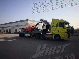 北京建筑垃圾拆解破碎再生处理站 恒美百特移动破碎机