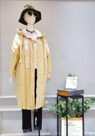 冰冰轻薄羽绒服折扣女装专柜品牌特卖剪标货源走份