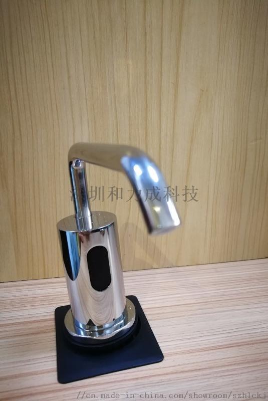 智能全自动感应水龙头式泡沫皂液器酒店台式感应给皂机