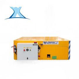 生产塑料管材制品设备运输车10t蓄电池无轨360°转弯电动遥控平车