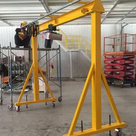 厂家直销龙门吊架简易龙门架移动门式吊架1吨龙门吊模具吊车定做