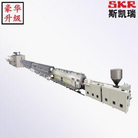 PE PVC木塑墙板生产线 pe木塑生产线