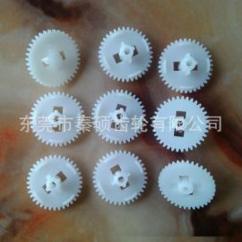 東莞市秦碩供應塑膠齒輪 電子賀卡用模數0.5齒數36齒塑料齒輪