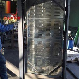 厂家供应隔音门吸音板建筑材料 景观护栏型围挡声屏障