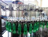 陸鼎機械三合一碳碳酸果汁灌裝機-自動灌裝機廠家