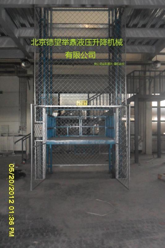 室内外固定导轨升降平台,可根据要求专业定制各类型号升降货梯,