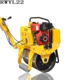 手动离合振动重量283kg5.5HP汽油机RWYL22手扶压路机*价格可议